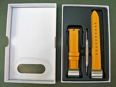 AU46.03 • Buy Fullmosa Compatible Fitbit Charge 2 Strap/Leather Band, Wristband Yellow