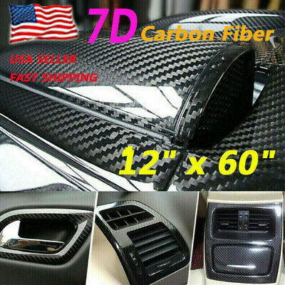 $19.54 • Buy Parts Accessories Carbon Fiber Vinyl Wrap Sheet Film Car Stickers Decal Paper