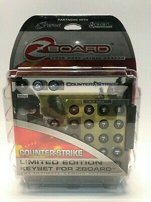 £19.09 • Buy Steelseries Counter Strike - Limited Edition Keyset For Zboard Pc - New Sealed