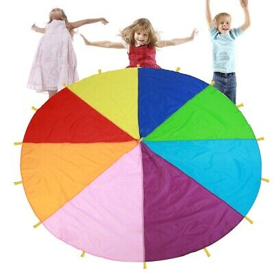Play Rainbow Parachute Outdoor Game Development Exercise Oxford Fabric • 19.28£