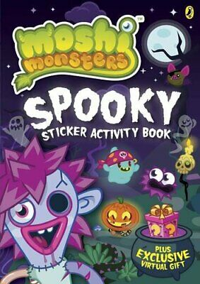 Moshi Monsters: Spooky Sticker Activity Book Book The Fast Free Shipping • 9.83£