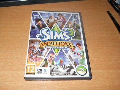 The SIMS 3 - ADD ON AMBITIONS  PC DVD-ROM GAME + CODE   # FREE POST  • 5.38£