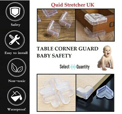 £2.29 • Buy Baby Proof Safety Glass Desk Table Edge Corner Cushion Guard Protector Bumper UK