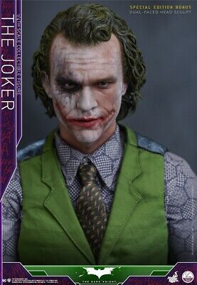 $670 • Buy Hot Toys THE DARK KNIGHT THE JOKER 1/4 Scale Action Figure  Deluxe Version