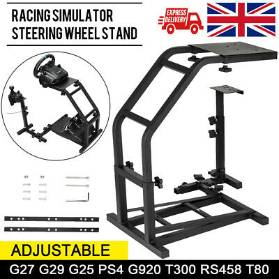 Racing Simulator Steering Wheel Stand Holder Gaming Pro For G29 G920 T300RS T80 • 40.98£