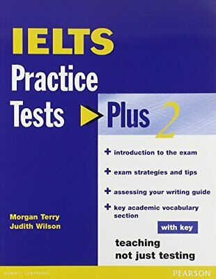 IELTS Practice Tests Plus 2 With Key By Terry, Ms Morgan Paperback Book The • 2.49£