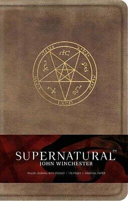 £12.38 • Buy Supernatural: John Winchester Hardcover Ruled Journal By Insight Editions Hardba