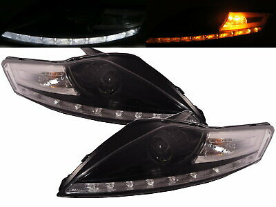 Mondeo BA7 MK4 2007-2014 Projector HEADLIGHT LED R8Look BLACK For FORD LHD • 699.34$