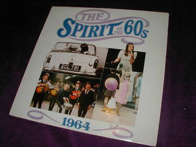 TIME LIFE, THE SPIRIT OF THE 60s 1964 THE BEAT GOES ON ,VINYL LP X 2 • 9.99£