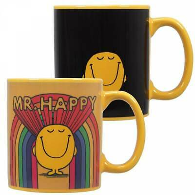 £12.95 • Buy Official Mr Men Mr Happy Heat Changing Magic Coffee Mug Cup New In Gift Box *