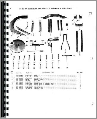 AU174.91 • Buy Parts Manual Ferguson TO20 Tractor & Implements