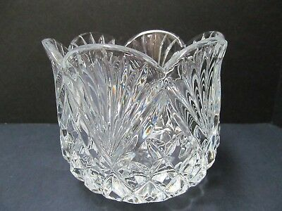 $14 • Buy Shannon Crystal Designs Of Ireland Scallop Bowl Rose Vase