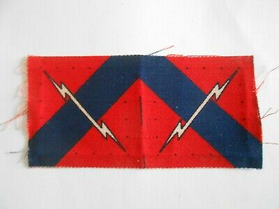 £28 • Buy  Pair  33rd Anti Aircraft Brigade  Formation Signs Military  Unit Patches Mint