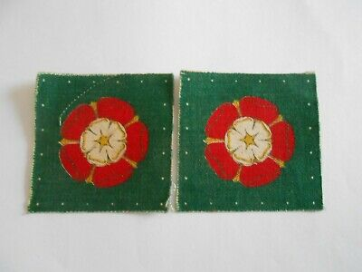 £22 • Buy Pair Catterick Garrison  Cloth Formation Signs Military Patches