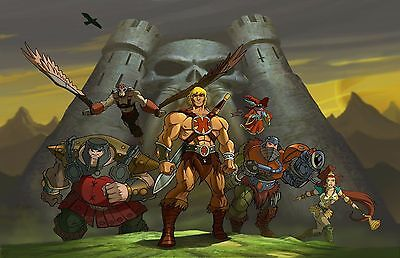 $11.99 • Buy Masters Of The Universe Movie Poster (b) - He-Man Poster - 11 X 17 Inches