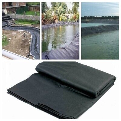 8-32ft Fish Pond Liner Gardens Pools PVC Membrane Reinforced 25 Year Guarantee • 12.42£