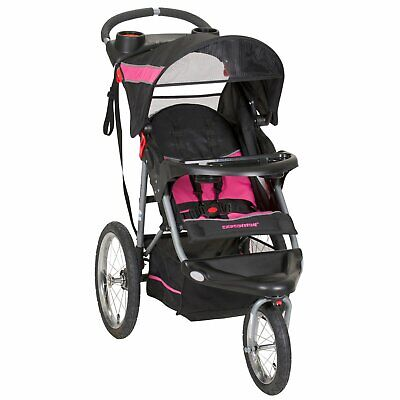 $136.77 • Buy JOGGING STROLLER EXPEDITION Swivel Jogger Child Kids Girl Pink Bubble Gum NEW