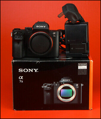 View Details Sony Alpha A7 II Compact SLT Camera, Sold With Battery & Charger & Box • 331.00£