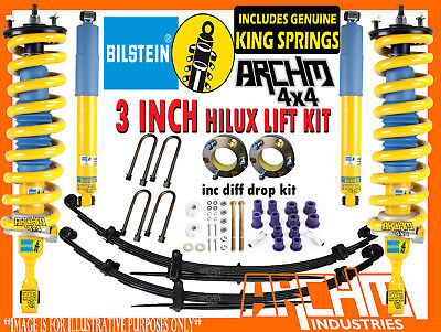 AU2195 • Buy  LIFT KIT FOR TOYOTA HILUX N80 2015-ON BILSTEIN ARCH4X4 3 INCH 75mm SUSPENSION