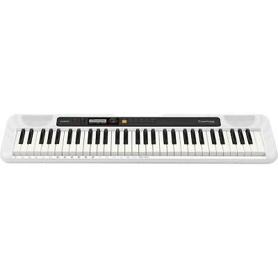 $119.99 • Buy Casio CT-S200 61-Key Digital Piano Style Portable Keyboard With 400 Tones, White