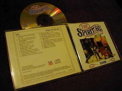 TIME LIFE, THE SPIRIT OF THE 60s 1968 ,CD • 7.99£