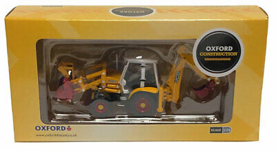 Oxford JCB 3CX Eco Backhoe Loader '70th Anniversary' Die-Cast Model - 1/76 Scale • 26.50£