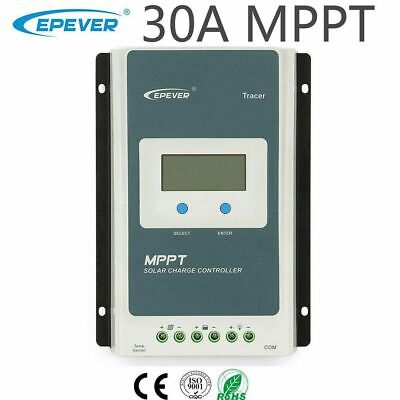 EPEVER MPPT 30A Solar Charge Controller 12V 24V Auto • 89.99£