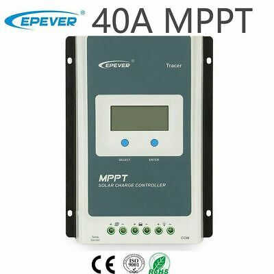 EPEVER MPPT 40A Solar Charge Controller 12V 24V Auto • 119.99£