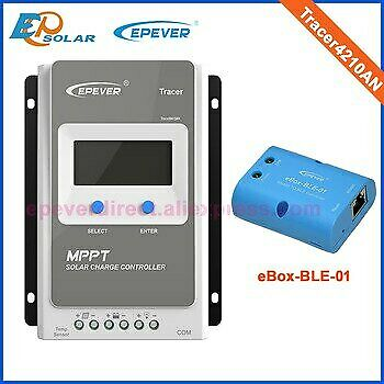 EPEVER MPPT 40A Solar Charge Controller 12V 24V Auto With Bluetooth • 129.99£