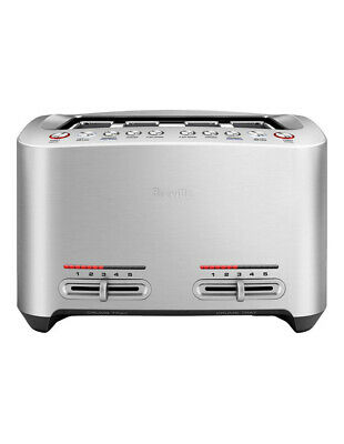 AU199.20 • Buy Breville The Smart Toast 4 Slice Toaster Brushed Stainless Steel BTA845BSS