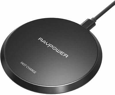 AU21.50 • Buy RAVPower 10W Fast Wireless Charger Charging Pad For IPhone Samsung Galaxy-black