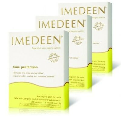 IMEDEEN TIME PERFECTION 360 Tablets, 6 Month Supply GENUINE, NEW 2021 Exp • 188.50£
