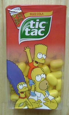 $ CDN5.06 • Buy 2017 TIC TAC SIMPSONS PRINTED SWEETS 49g BUZZ COLA FOR COLLECTOR