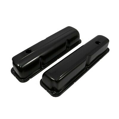$29.99 • Buy 1957-1976 Ford FE Black Plated Valve Covers - 352 390 406 427 428 Big Block