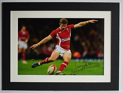 £44.99 • Buy Leigh Halfpenny Signed Autograph 16x12 Photo Display Wales Rugby Union AFTAL COA