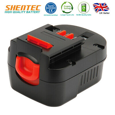 12V 3000mAh Ni-MH Battery For Black Decker A12 A12-XJ A1712 CP122K FSB12 HPB12 • 18.98£