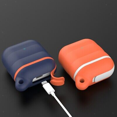 AU9.61 • Buy For Apple AirPods 1/2 Accessories Shell Earphone Charging Protector Covers