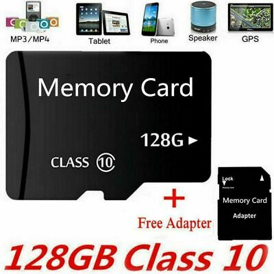 Micro SD Memory Card TF Class 10 2GB 4GB 8GB 16GB 32GB 64GB 128GB Adapter Lot • 6.99$