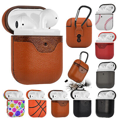 $ CDN8.67 • Buy Airpod Leather Case Cover Protective Cover For Apple AirPods Accessories Earpod