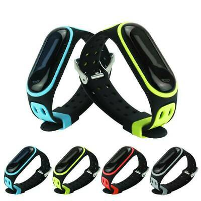 AU2.09 • Buy Silicone Replacement Bracelet Wristband Watch Band Strap For Xiaomi Mi Band 3/4