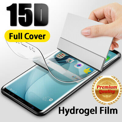 $ CDN7.99 • Buy For Samsung S10 S9 S8 Plus Note10 Soft Screen Protector Hydrogel Film Full Cover