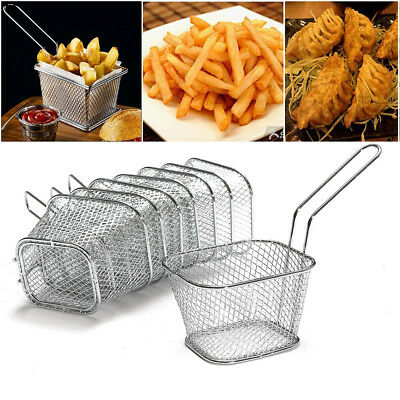 £19.99 • Buy Mini Chips Serving Baskets French Fries Crisps Food Dish Party Restaurant Style
