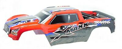 AU171.91 • Buy X-MAXX BODY Cover Shell (Red Painted ProGraphics Shell Traxxas 77086-4