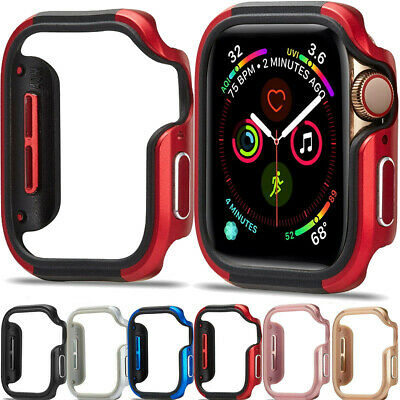 $ CDN17.02 • Buy For Apple Watch Series 5 4 Screnn Protective Bumpe Case Bumper Frame 40mm / 44mm