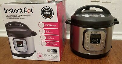 $49.87 • Buy Instant Pot Smart Duo60 V3 Quart Multi-use Electric Pressure, Slow, Rice Cooker