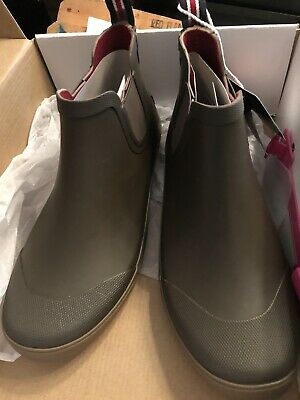 JOULES Green Ankle Rain Boots  US 9 Unisex New • 39.99$