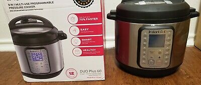 $69.87 • Buy INSTANT POT DUO Plus 6 Qt  9-in-1 Multi-Use Programmable Pressure Slow Cooker