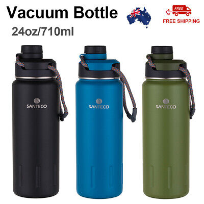 AU25.10 • Buy Vacuum Insulated Bottle Stainless Steel Thermos Travel Mug Water Drink Bottle