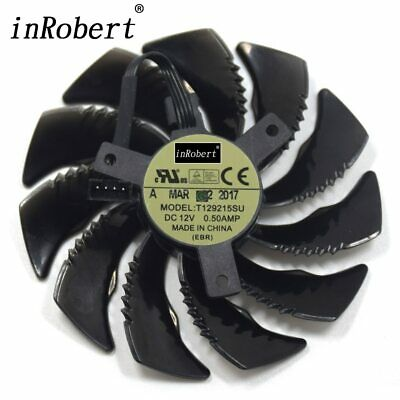 AU16.79 • Buy Cooling Fan For Gigabyte GTX 1050 1060 1070 960 RX 470 480 570 580 Graphics Card