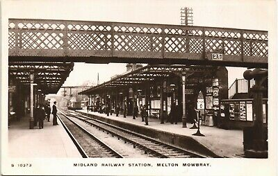 £40 • Buy Melton Mowbray. Midland Railway Station # S 10373 By WHS Kingsway.